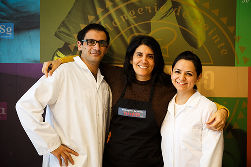 Ziad Khourg (left) with wife and Co-founder Diana Valtierra Rodriguez (right) and business partner (Khourg's sister-in-law) Nicole Khourg (middle), N3 Nutrition.