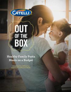 Catelli 2017 Cookbook Cover