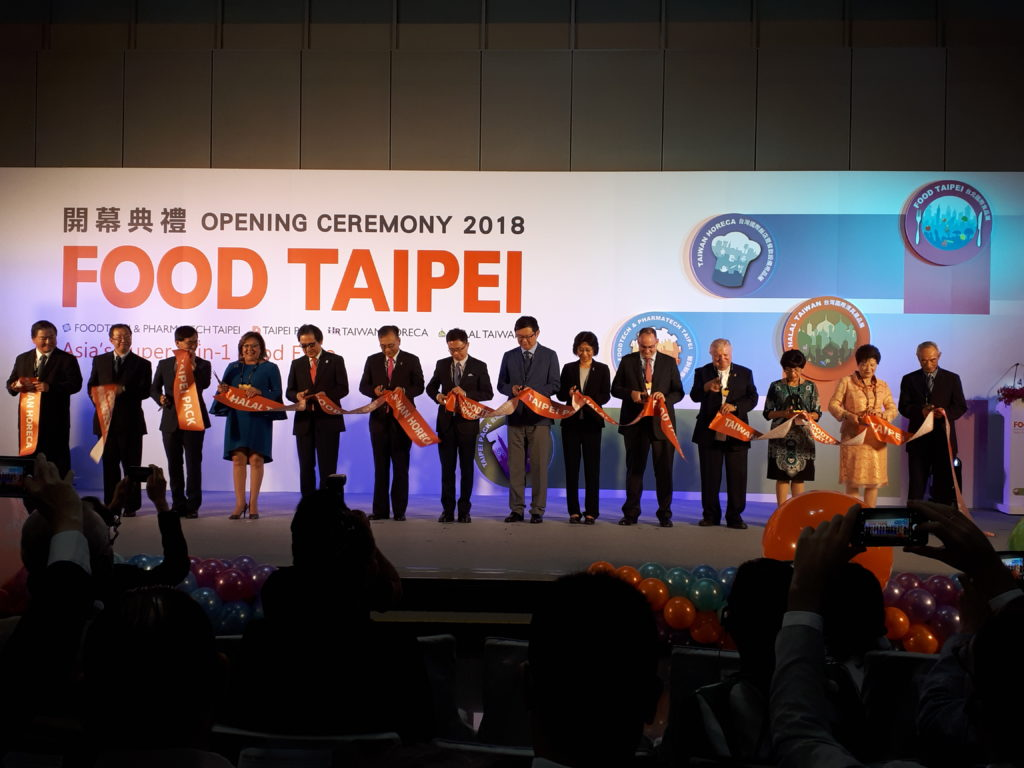 The Taiwan food industry is striving to separate itself from