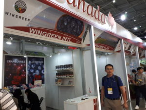 Canada booth