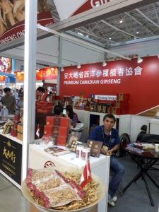 Canadian Ginseng booth
